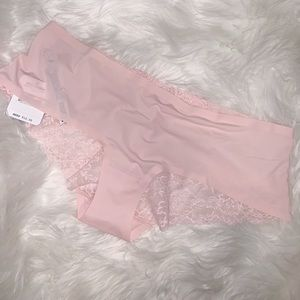 NWT Free people Smooth Hipster Panty Rose -size S